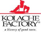 KOLACHE FACTORY / ORANGE COUNTY logo