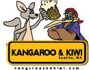 Kangaroo & Kiwi logo in Seattle, WA