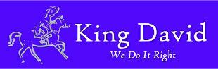 KING DAVID logo paver cleaning & sealing & restoring