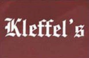 Kleffel's logo, kleffel's clothing