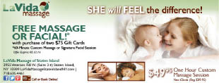 LAVIDA MASSAGE STATEN ISLAND coupons