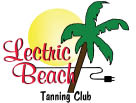 Lectric Beach Tanning Club logo in New Berlin WI