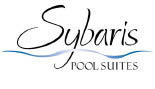 Sybaris Pool Suites logo in Mequon, WI
