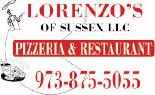 Lorenzo's Of Sussex Pizzeria & Restaurant in Sussex NJ logo