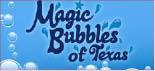 MAGIC BUBBLES OF TEXAS logo