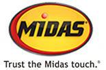 Midas logo for Asheville NC