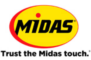 Midas logo for West Chicago, IL