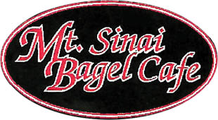 Mt. Sinai Bagel Café in Mt. Sinai, NY logo