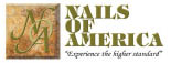 NAILS OF AMERICA logo