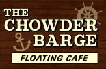 Chowder Barge floating Cafe long beach los angeles seafood
