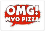 omg make your own pizza restaurant on route 9 in Howell logo