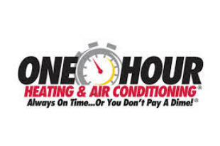 ONE HOUR A/C & HEATING logo