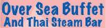 Oversea Buffet & Thai Steam Bar Logo, Chinese Food Logo, Chinese Restaurant Logo