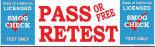 Smog Check - Pass or Free Retest!