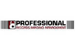 PROFESSIONAL RECORDS IMAGING MANAGEMENT logo