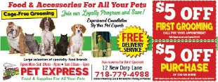 Pet Express coupons