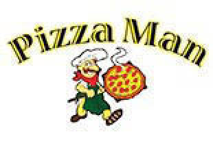 Pizza Man Logo, Pizza Shop Logo