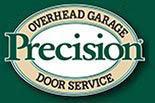 Precision Garage Door Service logo in Newport Beach, CA.