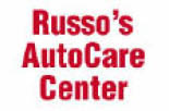 Logo for Russo's Auto Care car maintenance services in McMurray PA