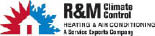 R & M CLIMATE CONTROL HEATING & AIR CONDITIONING logo
