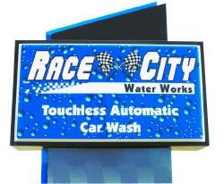 Race City Car Wash logo