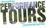 PERFORMANCE TOURS RAFTING logo