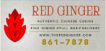 Red Ginger Chinese Restaurant logo in Johnston, RI