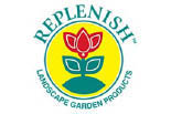 REPLENISH LANDSCAPE PRODUCTS logo