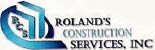 roland's construction services, inc Atlanta are service logo
