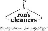Ron's Cleaners Logo