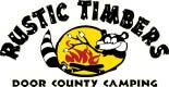 Rustic Timbers Door County Camping logo