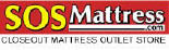 SOS Mattress logo in Cartersville GA
