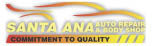 SANTA ANA BODY SHOP logo