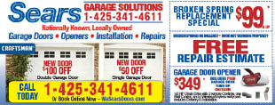 Sears Garage Solutions Seattle coupons