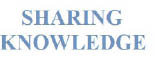 SHARING KNOWLEDGE logo