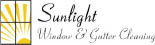SUNLIGHT WINDOW & GUTTER CLEANING logo