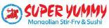 SUPER YUMMY MONGOLIAN / SAWDUST logo