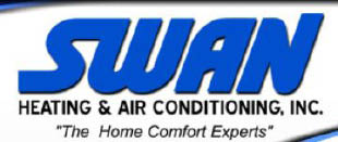 SWAN PLUMBING HEATING & AIR CONDITIONING Logo