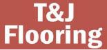 T & J FLOORING logo
