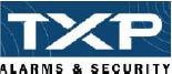 TXP ALARMS & SECURITY logo
