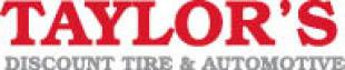 TAYLORS DISCOUNT TIRE logo