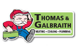 Save $100 on a Heating Repair -OR- Save $80 on a Plumbing Repair from THOMAS & GALBRAITH HEATING AND COOLING