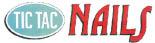 TIC TAC NAILS - WESTLAND logo