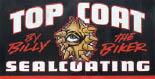 TOP COAT SEALCOATING logo
