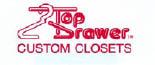 Top Drawer Custom Closets Daytona Beach Logo