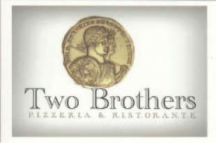 TWO BROTHERS PIZZERIA & RISTORANTE logo