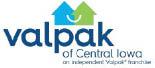 VALPAK OF CENTRAL IOWA logo