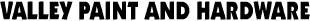 Valley Paint & Hardware in Vernon NJ logo