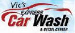 Vic's Express Car Wash in Bolingbrook, IL logo