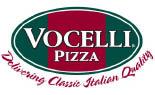 Vocelli Pizza logo in Monroeville, PA